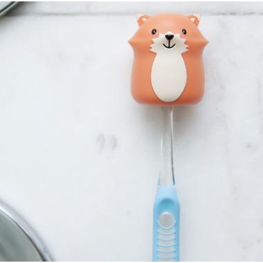 Kikkerland Toothbrush Holder Fox