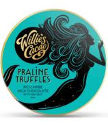 Willie's Cacao Praline Truffles Rio Caribe Milk Chocolate with Sea Salt