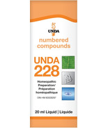 UNDA Numbered Compounds UNDA 228 Homeopathic Preparation