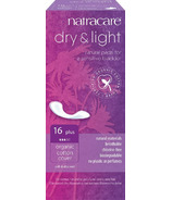 Natracare Dry & Light Plus Natural Pads