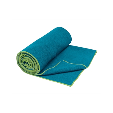 Gaiam Thirsty Yoga Mat Towel Blue & Teal