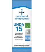 UNDA Numbered Compounds UNDA 15 Homeopathic Preparation