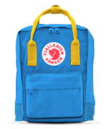 Fjallraven Kanken Backpack Blue & Yellow