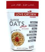Love Grown Foods Super Oats Nuts & Seeds