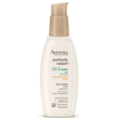 buy aveeno positively radiant cc cream spf 30 at. Black Bedroom Furniture Sets. Home Design Ideas