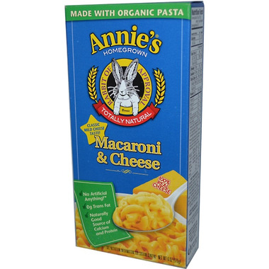 Annie\'s Homegrown Classic Mac & Cheese