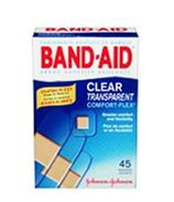 Band-Aid Clear Comfort-Flex Bandages