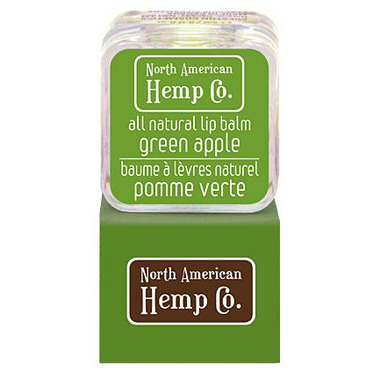 North American Hemp Co. Green Apple Lip Balm
