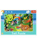 Trefl Puzzle Frame Tropical Forest
