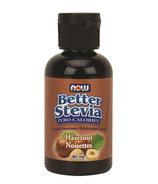 NOW Better Stevia Liquid Sweetener Hazelnut