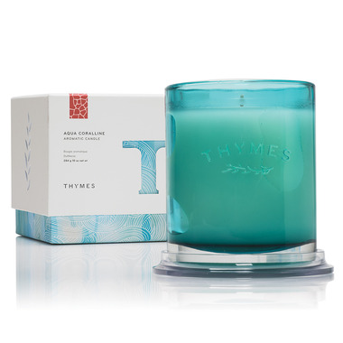Thymes Aqua Corraline Aromatic Candle