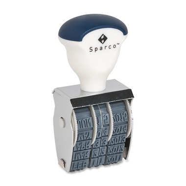Sparco Rubber Date Stamp