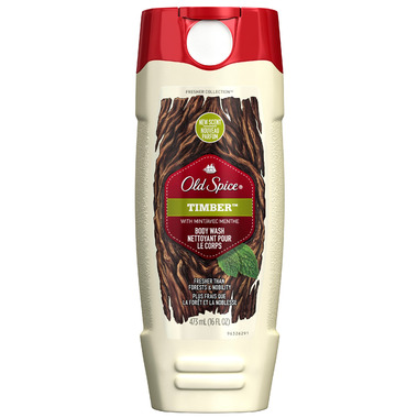 Old Spice Fresher Collection Timber Body Wash