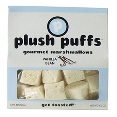 Plush Puffs Vanilla Bean Gourmet Marshmallows