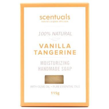 Scentuals 100% Handmade Natural Soap Vanilla Tangerine