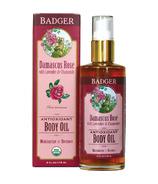 Badger Damascus Rose Body Oil
