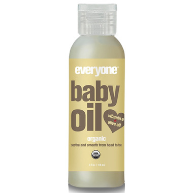 Everyone Organic Baby Oil Unscented
