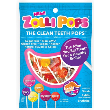 Zollipops The Clean Teeth Pops