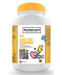 Herbaland Vitamins D3 & B12 Gummy