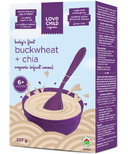 Love Child Organics Buckwheat & Chia Infant Cereal