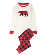 Little Blue House by Hatley Kids Pajamas Buffalo Plaid