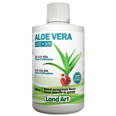 Land Art Aloe Vera Gel Pomegranate