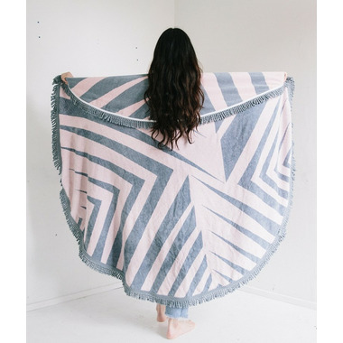 Tofino Towel The Rosie Round Towel
