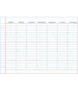 WallPops Notepad Dry Erase Monthly Calendar