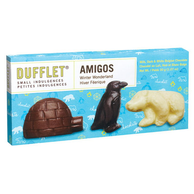Dufflet Small Indulgences Amigos Winter Wonderland