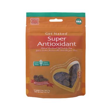 Natural Polymer Int. Get Naked Super Antioxidant Soft Treats Bag