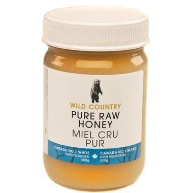 Wild Country Raw Honey