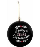 Pearhead Baby's 1st Christmas Ball Ornament
