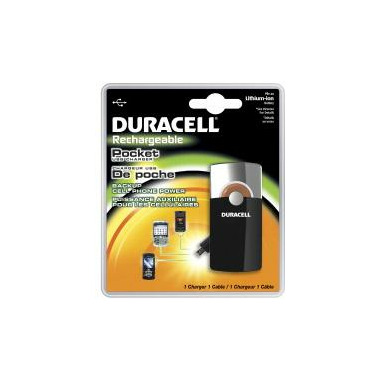 Duracell Rechargable Pocket Charger