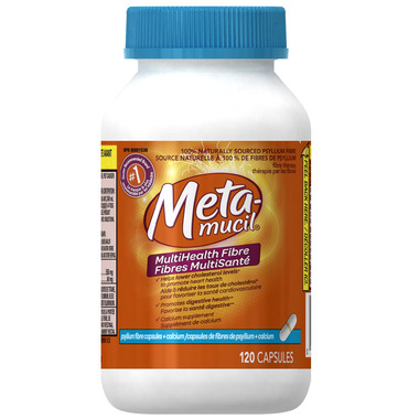 Metamucil Multihealth Fiber Capsules with Calcium