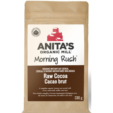 Anita\'s Organic Mill Morning Rush Raw Cocoa Oatmeal