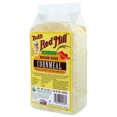 Bob\'s Red Mill Organic Medium Grind Cornmeal