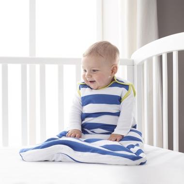 Grobag Baby Sleep Bag 1.0 Tog True Blue Stripes