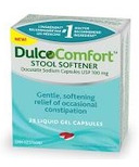 Dulcolax Dulcocomfort 25's Stool Softener