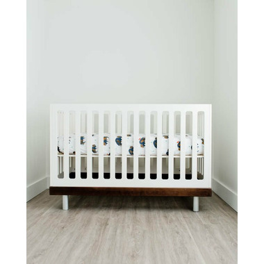 Little Unicorn Percale Crib Sheet Bison