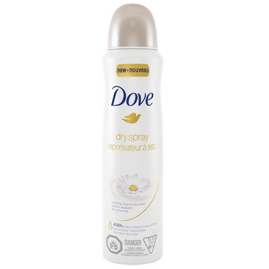 Dove Soothing Chamomile Dry Spray Antiperspirant