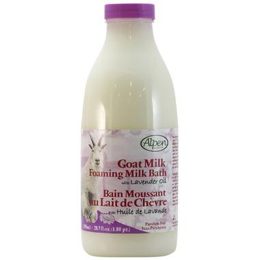 Alpen Secrets Goat Milk Foaming Bath