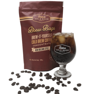 Station Cold Brew Coffee Co. Brew-It-Yourself Cold Brew Iced Coffee