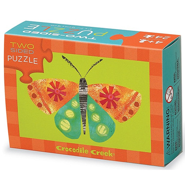 Crocodile Creek Two Sided Puzzle Garden
