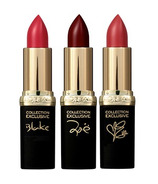 L'Oreal Paris Colour Riche Collection Exclusive Pure Reds