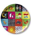 Crocodile Creek Plate Kids World