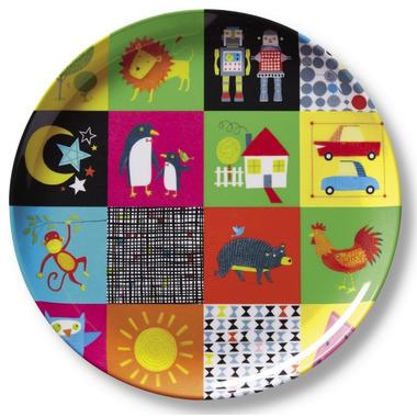 Crocodile Creek Plate Kids World