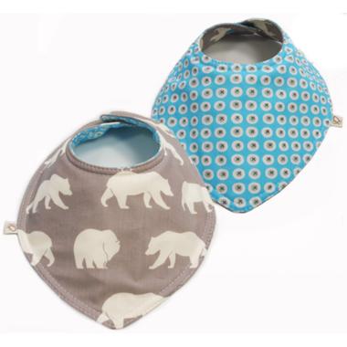 Oko Creations Reversible Bibdana Little Bear
