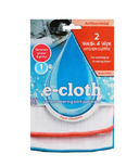 e-cloth Wash & Wipe Dish Cloths (2 Pack)