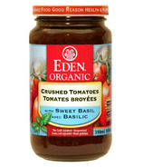 Eden Organic Crushed Tomatoes With Sweet Basil