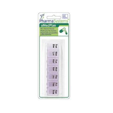 PharmaSystems Small Pill & Vitamin Planner